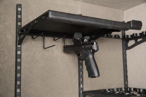 Undershelf Scoped Pistol Rack