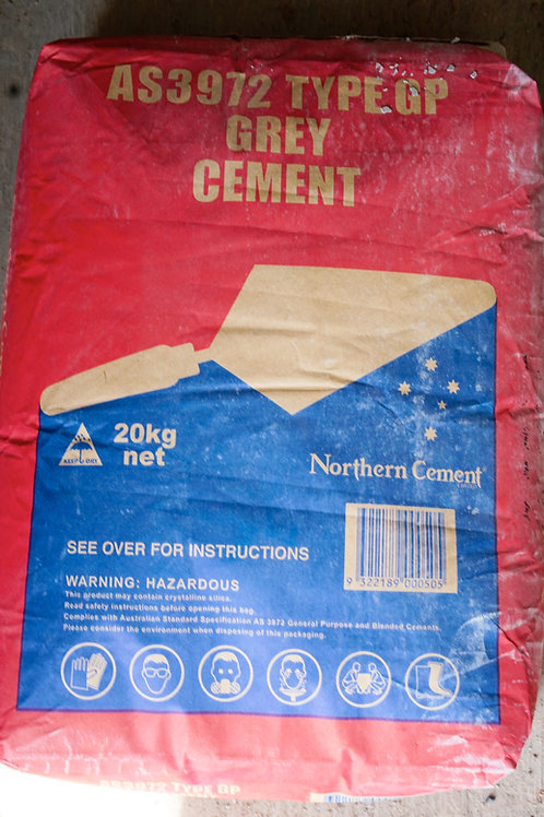 Northern Grey Cement 20kg bag