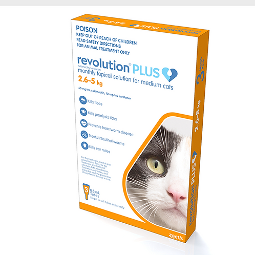 Revolution PLUS Medium Cat 2.6-5kg.....from