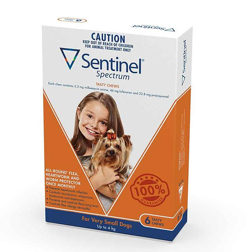 Sentinel Spectrum Brown (up to 4kg).....from
