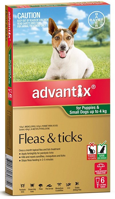 Advantix Small Dog (0-4kg).....from
