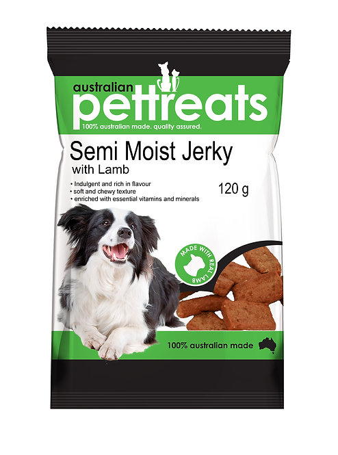 Semi Moist Jerky Lamb.....from