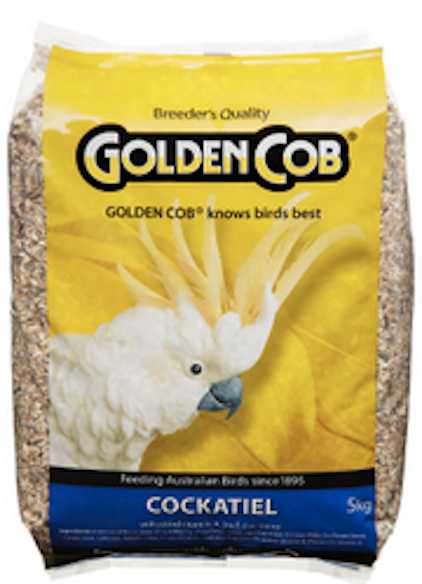 Golden Cob Cockateil Mix 5kg
