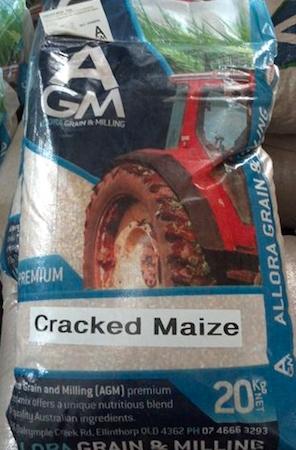 AGM (Allora) Cracked Corn 20kg