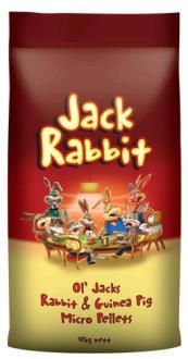 Laucke Ol' Jacks Rabbit & Guinea Pig Micro Pel 10kg