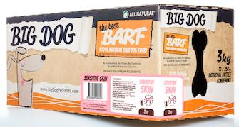 Big Dog BARF for Dogs - Sensitive Skin