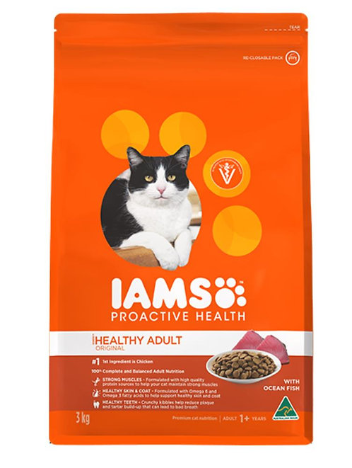 IAMS Adult Cat Ocean Fish or Chicken.....from