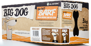 Big Dog BARF for Dogs - Kangaroo