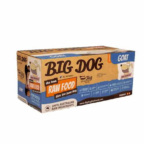 Big Dog BARF for Dogs - Goat