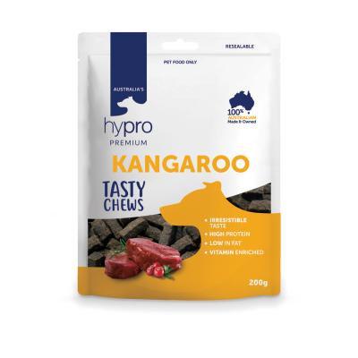 Hypro Tasty Kangaroo Chew Treats 200g