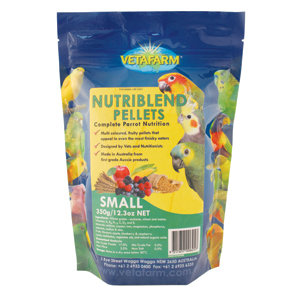 Vetafarm Nutriblend Pellets (Small).....from