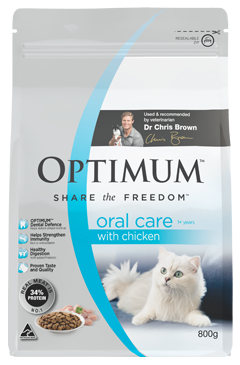 OPTIMUM Cat/Kitten 800g - Various