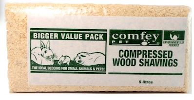 Comfey Pet Pac Shavings 5L