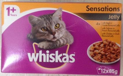 Whiskas Favourites 12 x 85g Packs - Various