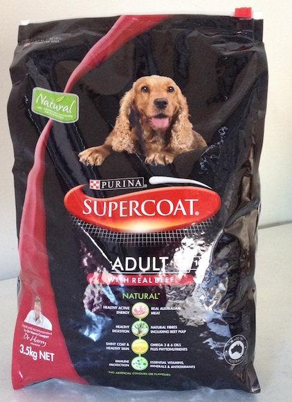SUPERCOAT Dry Food 12kg - Various Varieties