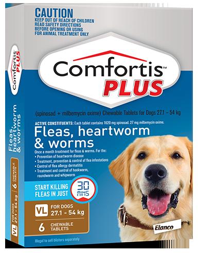 Comfortis PLUS Brown 27.1 - 54kg