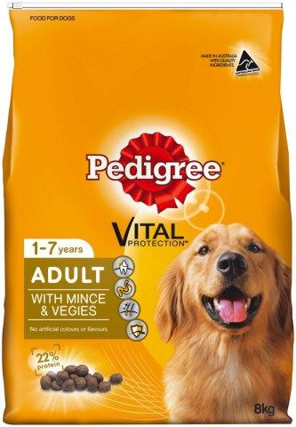 Pedigree Mince & Vege 20kg