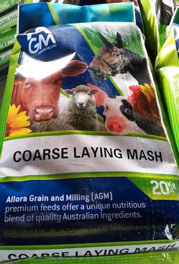 AGM (Allora) Coarse Laying Mash 20kg