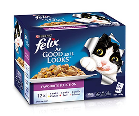Felix Favourite Selection 12 x 85g