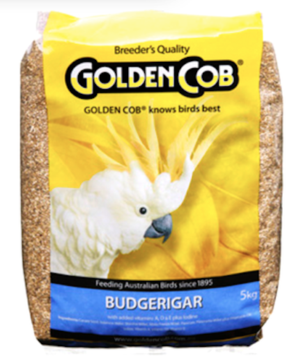 Golden Cob Budgie Mix 5kg