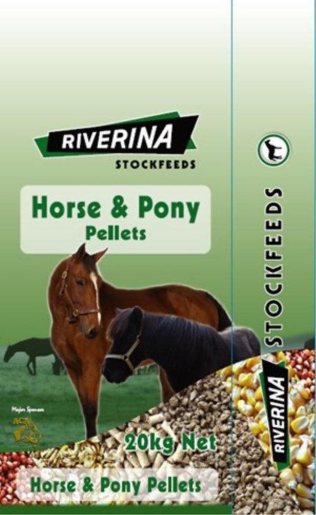 Riverina Horse & Pony Pellets 20kg