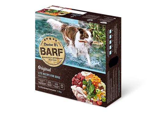 Dr B's Lite BARF Patties for Dogs
