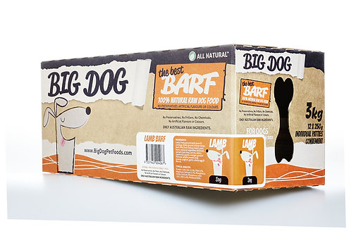 Big Dog BARF for Dogs - Lamb