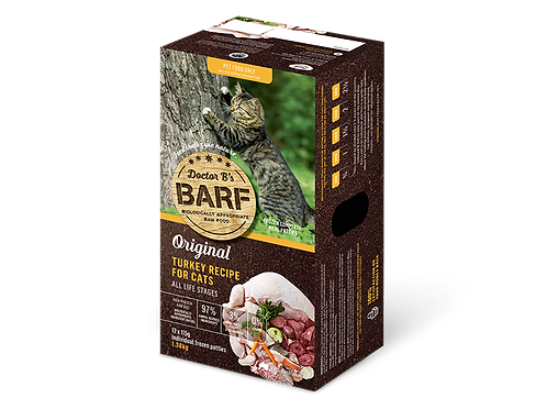 Dr B's BARF Patties for Cats - 2 Flavours