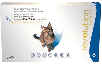 Revolution Cat Blue (2.6 - 7.5kg).....from