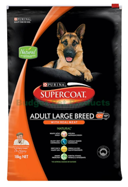 SUPERCOAT for Dogs 18kg - Various Varieties