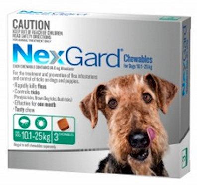 Nexgard Large Dog - 10.0-25kg.....from