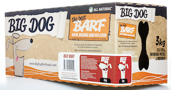 Big Dog BARF for Dogs - Beef