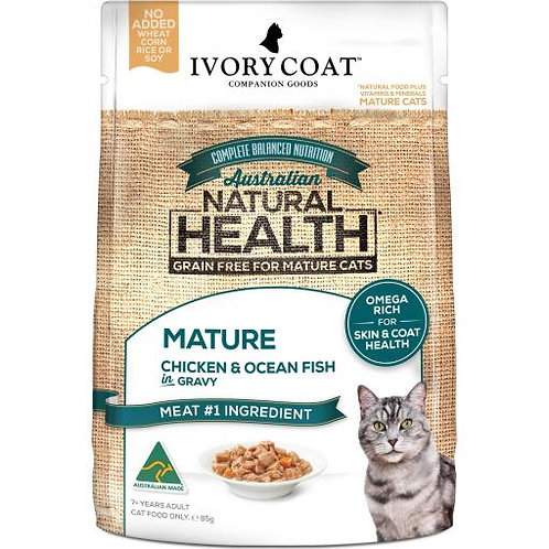 Ivory Coat Mature Chicken & Fish in Gravy 85g