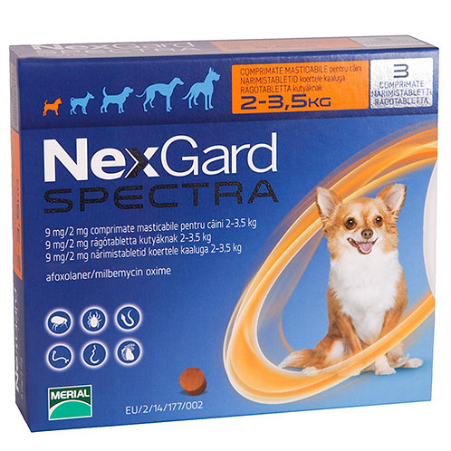 Nexgard Spectra 3 Pack.....from