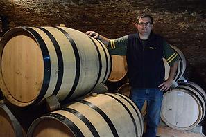 Domaine de la Perrin owner winemaker Christophe Perrin