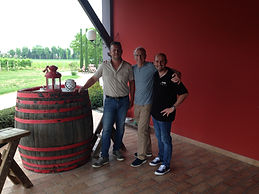 Obiz winery owner, winemaker and tom mccormick