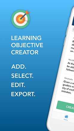 Learning Objectives iPhone 8 Plus Screen
