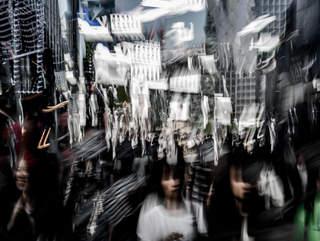 shadows in Tokyo