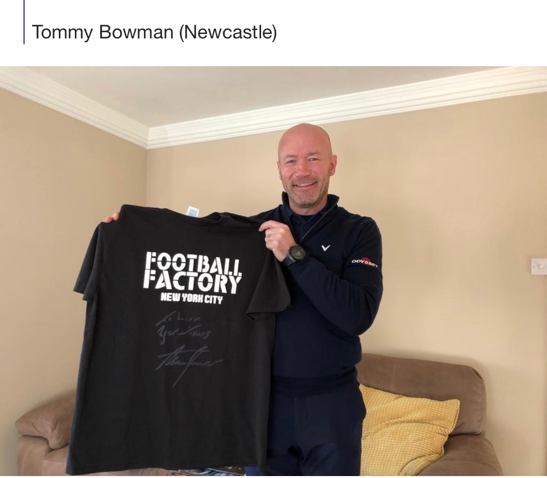 Newcastle-Tommy Bowman
