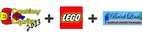 Creations for Charity gains support from LEGO and Bricklink