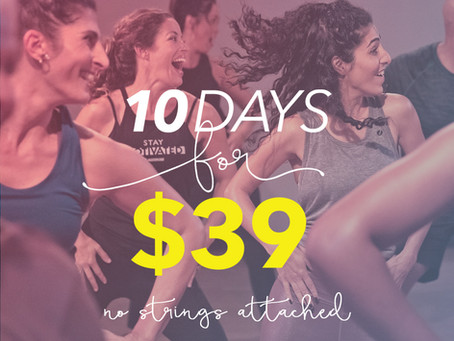 10 Days for $39