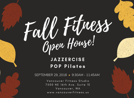 Fall Fitness Open House
