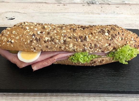 Kornbrot Sandwiche Schinken
