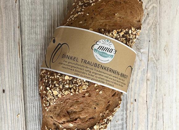 Dinkel-Traubenkernenbrot 400 Gr.