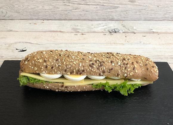Kornbrot Sandwiche Greyerzer