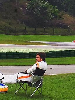 Fernando Alonso no Kartódromo