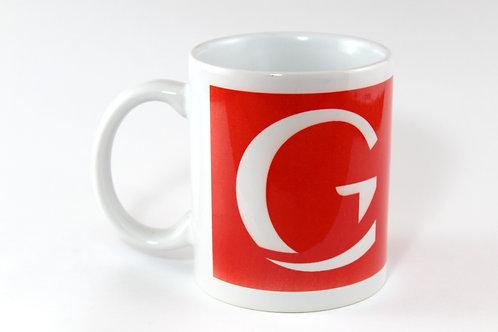 """Ceramic """"G"""" Logo Mug"""