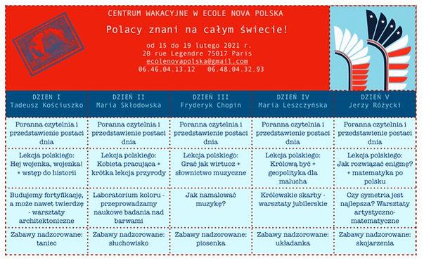 Centrum wakacyjne ecole nova polska