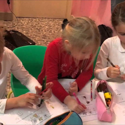 Lekcja języka polskiego jako obcego dla pięciolatków