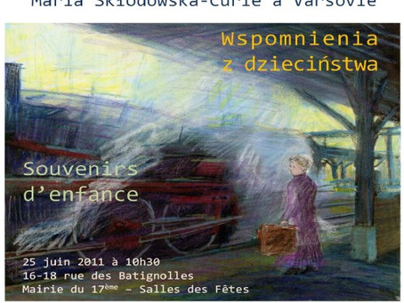 Spectacle Maria Skłodowska-Curie à Varsovie